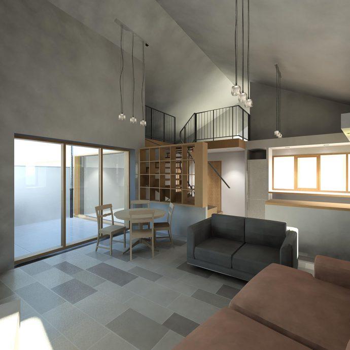 Maison individuelle ankha architecture for Salon maison individuelle