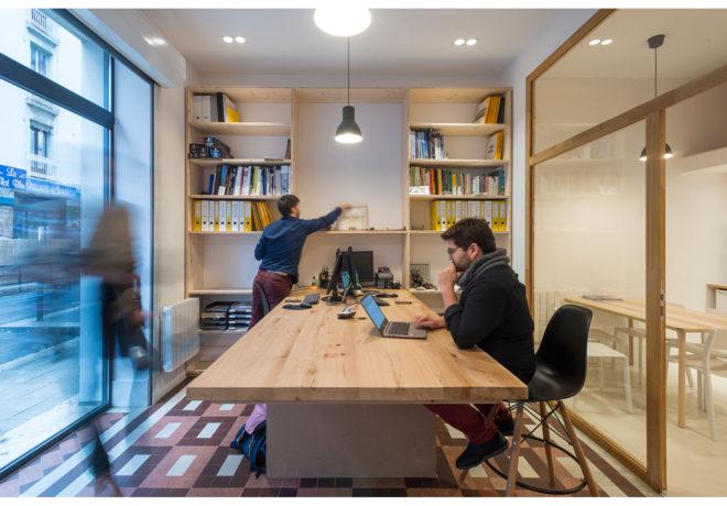 Bureau Architecture Grenoble : Présidentielle la journée du second tour vue des bureaux de